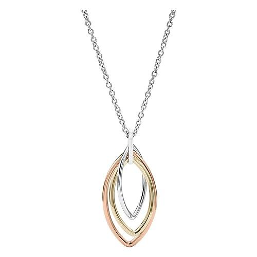 Fossil Collar con colgante Mujer acero inoxidable - JF02779998