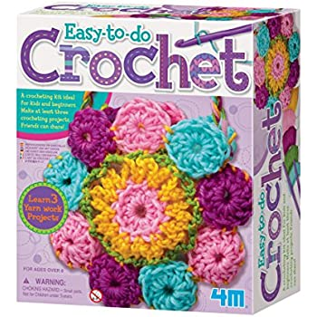 Amazon.com: 4 M Crochet Art 1 pcs SKU # 1846805 Ma: Toys & Games