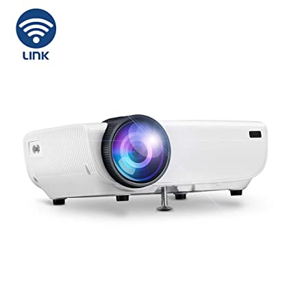 Wireless Projector, YONTEX WIFI 3600 Lumes Portable Home Cinema Projector  1080p Support with Speaker, WIFI Directly Connect with Phone, Tablet, PC  and