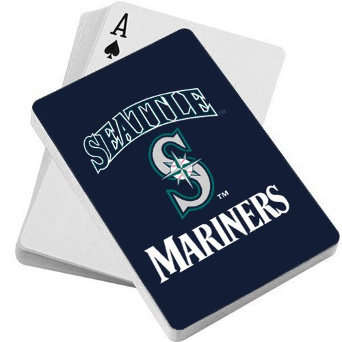 MLB Seattle Mariners Playing Cards (Accessories Mens Mlb)