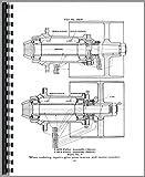 Allis Chalmers UO Tractor Parts Manual