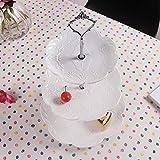 Accent Plates,Petforu 5 Sets Crown 3 Tier Cake