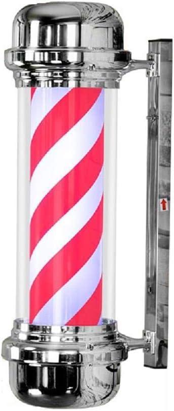 FJY Poste del Peluquero Torre de la Insignia LED de Estar Cuadro de Pared Colgante Retro Tienda Impermeable Peinado en el Agua Ligera a la luz de suspensión