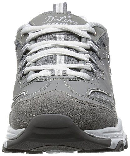 Fan Skechers Sportives Femme NVW D'Lites 37 Bleu Taille Baskets SKEES Biggest qw4AZp