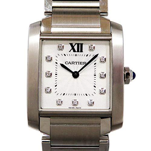 premium selection 89e3e 85737 Amazon   カルティエ Cartier タンク フランセーズ MM WE110007 ...