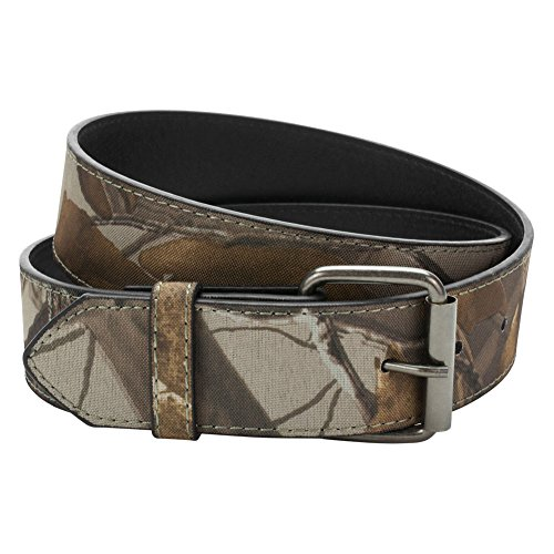 Buckle Rage Mens Camouflage Leather Belt Strap Small