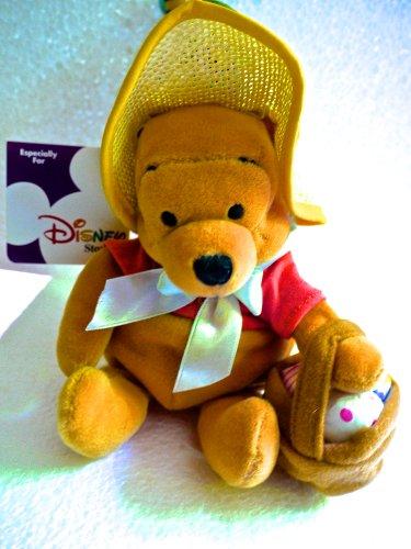 "Disney Mini Bean Bag 8"" Easter Bonnet Pooh"