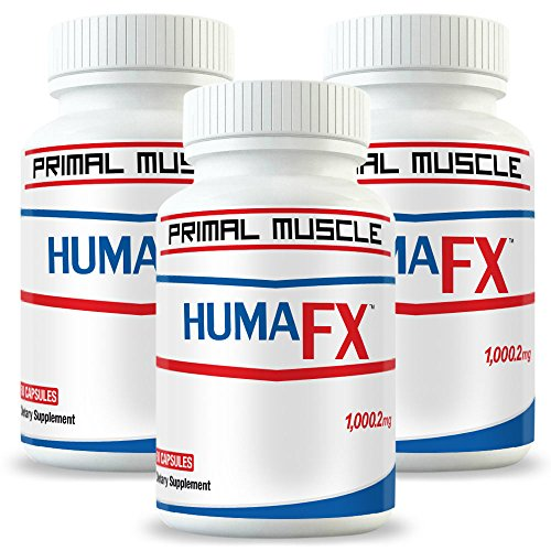 Best Post Workout Muscle Recovery Supplement - HUMATROPIC (3 Month Supply) [With Micro-RNA Technology] - Users Report FAST After Workout Muscle Recovery - Results 100% GUARANTEED! by Primal Muscle