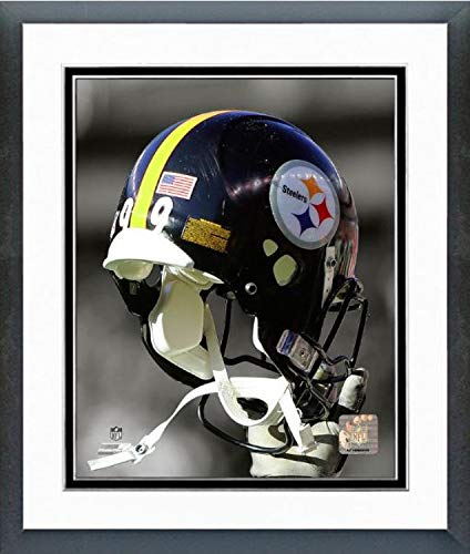 Pittsburgh Steelers Helmet Spotlight Photo (Size: 12.5