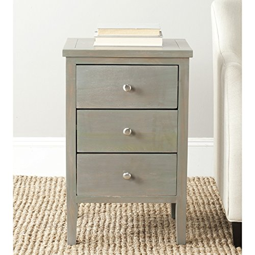 Safavieh American Homes Collection Deniz French Grey End Table