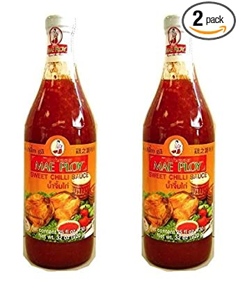 Amazon Com Mae Ploy Sweet Chili Sauce 32oz Pack Of 2 Grocery Gourmet Food
