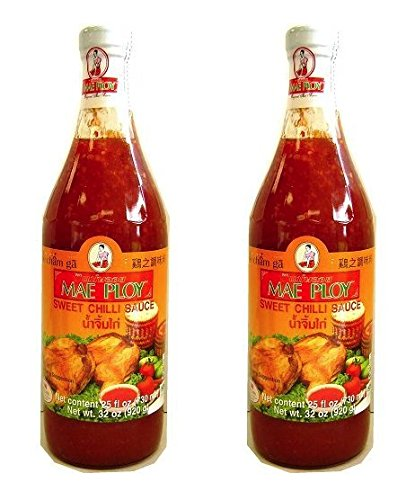 Mae Ploy Sweet Chili Sauce 32OZ (Pack of 2) ()