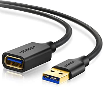 UGREEN Cable Alargador USB 3.0 Cable Extension USB Tipo A Macho a ...