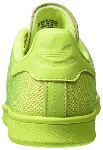 adidas Stan Smith, Zapatillas de Gimnasia Unisex Amarillo (Solar Yellow/Solar Yellow/Solar Yellow)