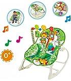Star Ibaby Jungle - Hamaca 3 en 1 con música y vibración