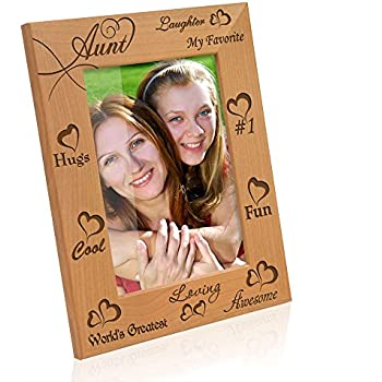 kate posh my awesome cool favorite loving aunt picture frame 5x7 vertical