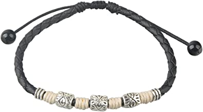 Ancient Tribe Handmade Adjustable Leather Anklet