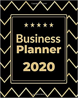 Best Home Business 2020.Business Planner 2020 Monthly Weekly Planner Organizer