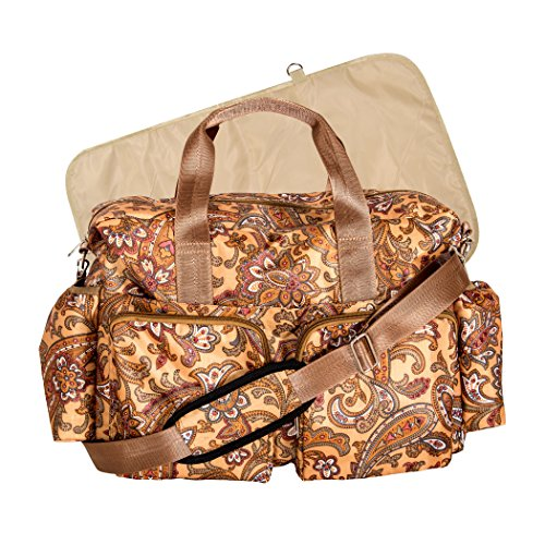 Trend Lab Paisley Deluxe Duffle