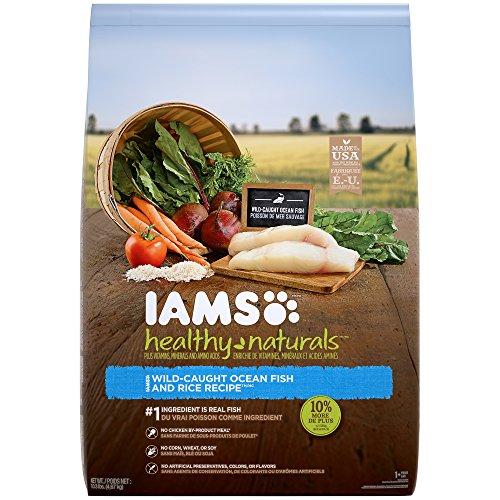 Iams HEALTHY NATURALS Adult Ocean Fish and Rice Recipe Dry D