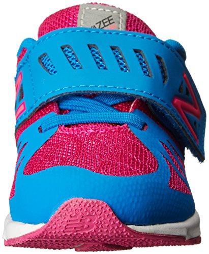 Vazee New Balance Chaussure de course Crochet et boucle (nourrisson/enfant), Violet/Bleu, 2 W US Bébé