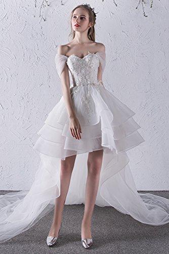 Ad Linea A Vestito White Vimans Donna wEvZq7P