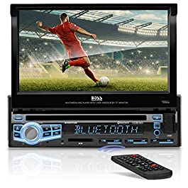 BOSS Audio Systems BV9976B Car DVD Player - Single Din, Bluetooth Audio and Calling, Built-in Microphone, CD-USB-SD-Aux… 6