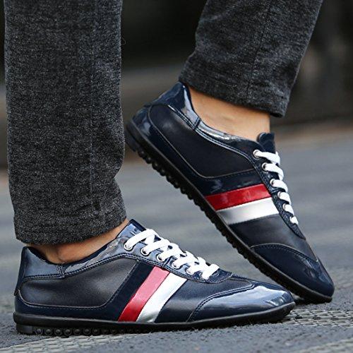 Herren LH001A Sneaker Dunkelblau Größe 39 Blau Minitoo LHEU OBqwnPpxE