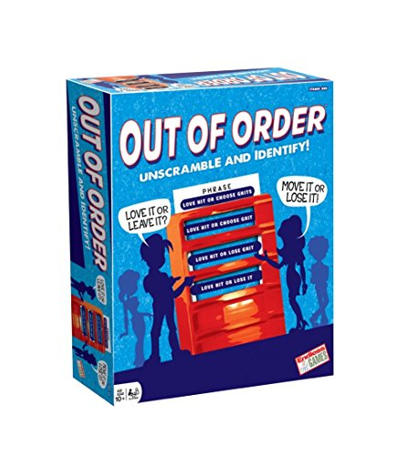 Endless Games Out of Order Board Game (Board Game Endless Games)