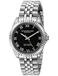 Stuhrling Original Women's 599L.02 Symphony Lady Coronet Analog Display Swiss Quartz Silver Watch