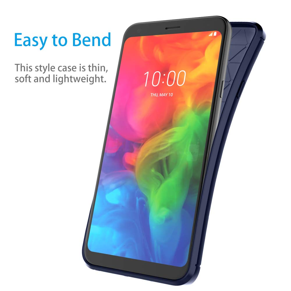 Amazon.com: Aoways - Carcasa para LG Q7 +, protector de ...
