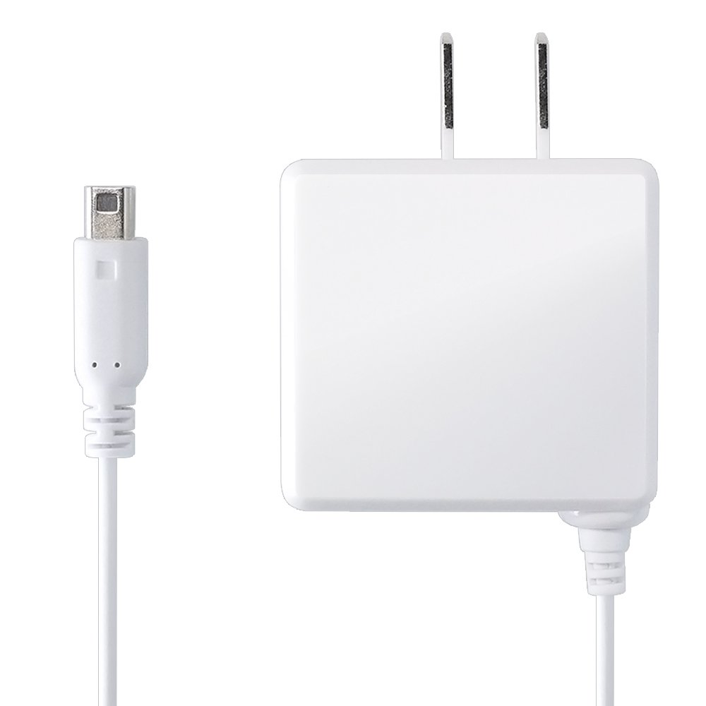 IINE New3DSLL New3DS 3DSLL 3DS version AC adapter charger 100 inch (white) by IINE