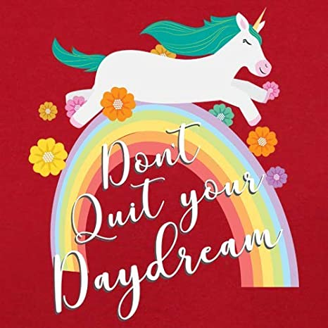 Dressdown Dont Quit Your Daydream 3-24 Months 8 Colours Baby T-Shirt
