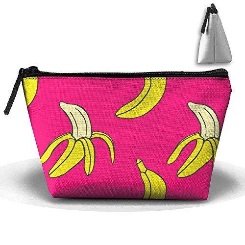 SESY Banana Pouch Portable Storage Bag Clutch Hand Bag