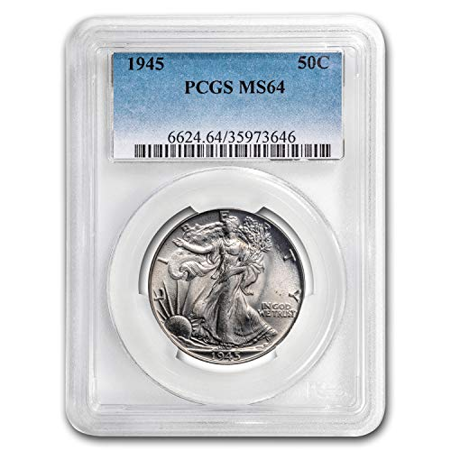 1945 Walking Liberty Half Dollar MS-64 PCGS Half Dollar MS-64 PCGS