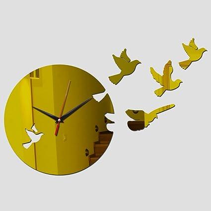 WXIN DIY Relojes De Pared De Acrílico Personalizado Arte Moderno Nueva Sala De Estar Oferta Especial