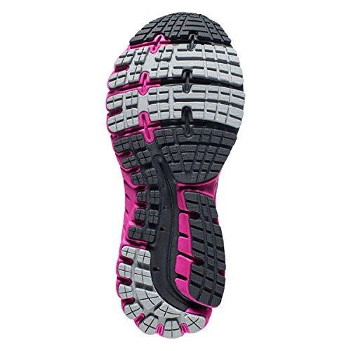 Brooks Ghost 9 Gtx, Zapatos para Correr para Mujer, Anthracite/Festivalfuchsia/Silver Anthracite/Festival Fuchsi