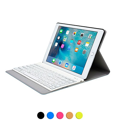 iPad Air 2 keyboard case, COOPER AURORA FOLIO 7 Backlight...