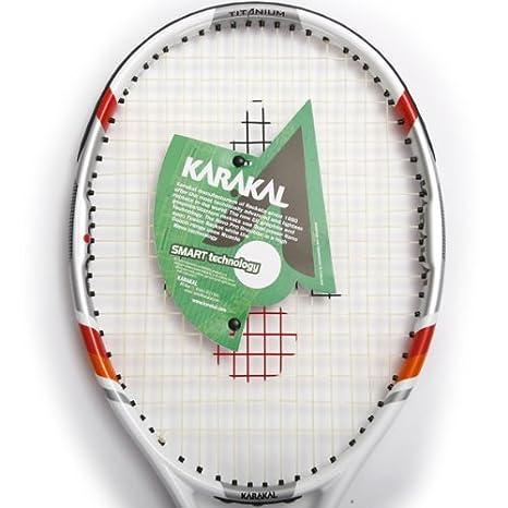 Karakal Q2 - 650 Ti Nano grafito - Raqueta de tenis (titanio RRP £55, Raqueta de tenis: Amazon.es: Deportes y aire libre