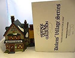 """Heritage Village Collection; Dickens Village Series: """"Giggleswick Mutton and Ham"""" #58220 by Department 56"""