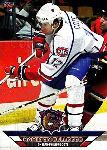((CI) Jean-Philippe Cote Hockey Card 2006-07 Hamilton Bulldogs (base) 6 Jean-Philippe)