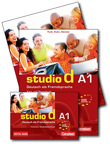 Studio D A1 (Set of 3 Books)