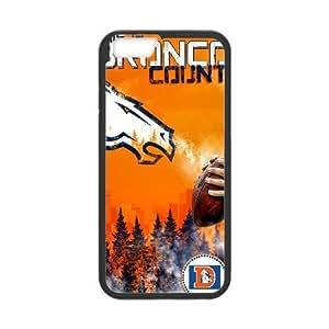 iPhone 6 4.7 inch Phone Case Black Style.10257 Denver Broncos Team Logo Phone Case For Boys Custom