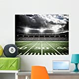 Wallmonkeys American Soccer Stadium Wall Mural Peel and Stick Graphic (36 in W x 27 in H) WM205708