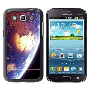 Be Good Phone Accessory // Dura Cáscara cubierta Protectora Caso Carcasa Funda de Protección para Samsung Galaxy Win I8550 I8552 Grand Quattro // Space Earth Sun Blue Planet Cosmos S