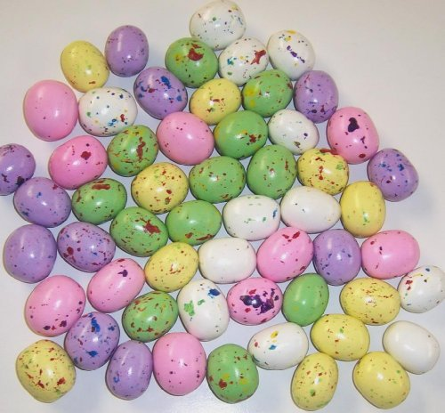 - Scott's Cakes Speckled Chocolate Malted Eggs in a 1 Pound Plastic Deli Container