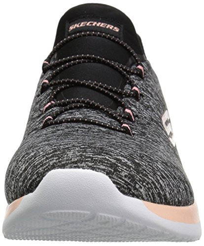 Skechers 12991 / Gylp Dynamight-break-through Pantofola Per Donna Sneaker Grigio / Rosa Nero (nero)