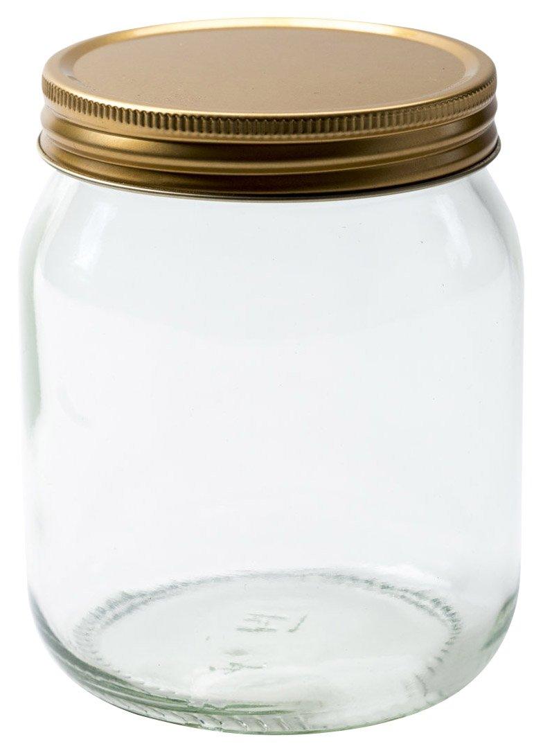 454 ml di Vetro Rotondo Vaso del Miele di Nutley