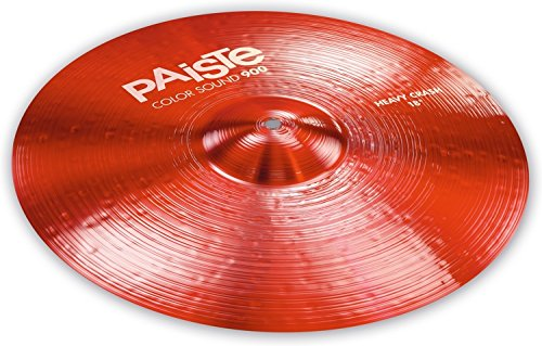 Paiste Color Sound 900 Heavy Crash Cymbal - 18'' Red