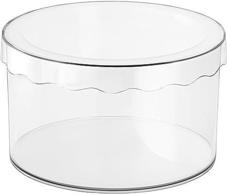 InterDesign Clarity Sombrerera con Tapa, pequeña Caja de ...